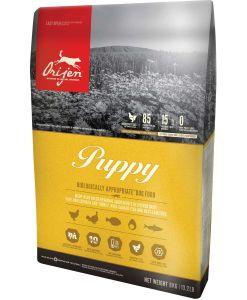 hrana caini Orijen Puppy mini & medium sai Orijen Puppy Small & MEdium pentru caini juniori de talie mica si medie
