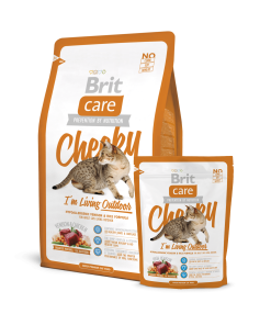 Hrana uscata pisici Brit Care Cat Cheeky Living Outdoor