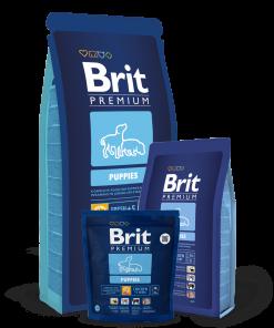 Hrana Brit Premium Puppies pentru catei