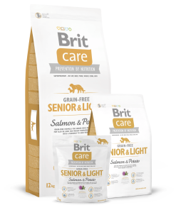 Hrana caini Brit Care Senior Light Somon si Cartofi Fara Cereale
