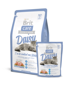 Hrana uscata pisici Brit Care Cat Daisy Weight Control