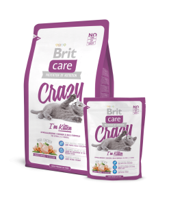 hrana uscata pisici Brit Care Cat Crazy Kitten