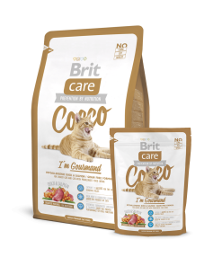 Hrana uscata pisici Brit Care Cat Cocco Gourmand