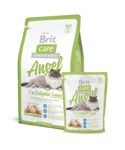 Hrana uscata pisici Brit Care Cat Angel Delighted Senior