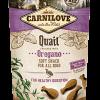 snack pentru caini carnilove soft cu carne de prepelita