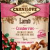 Carnilove snacks lamb cranberries, gustare miel pentru caini