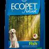 Hrana uscata Ecopet Natural Peste Mini