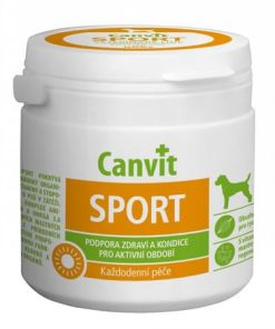 supliment alimentar pentru caini vitamin canvit sport 100 gr pentru caini activi