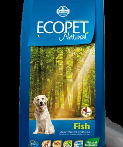 Hrana uscata Ecopet Natural Peste Maxi