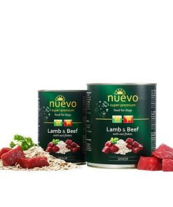 hrana umeda caini Nuevo Dog Senior Miel si Vita