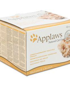 hrana umeda pisici applaws cat multipack chicken