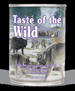 conserva Taste of The Wild Sierra Mountain pentru caini