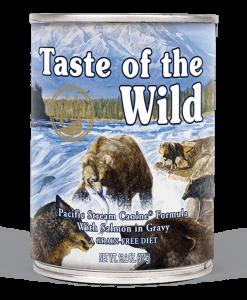 conserva pacific stream taste of the wild pentru caini