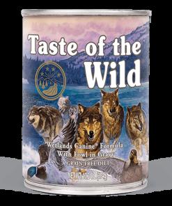 conserva wetalnds taste of the wild pentru caini
