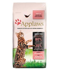 Hrana uscata pisici Applaws Somon si Pui