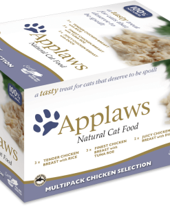 appalws hrana umeda pisici multipack chicken selection cu pui boluri