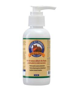 Grizzly Ulei Somon 125 ml pentru caini si pisici grizzly salmon oil