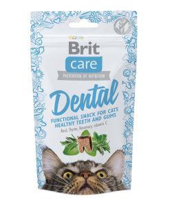 snack pentru pisici brit care dental care