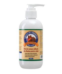 Grizzly Ulei Somon 250 ml pentru caini si pisici grizzly salmon oil