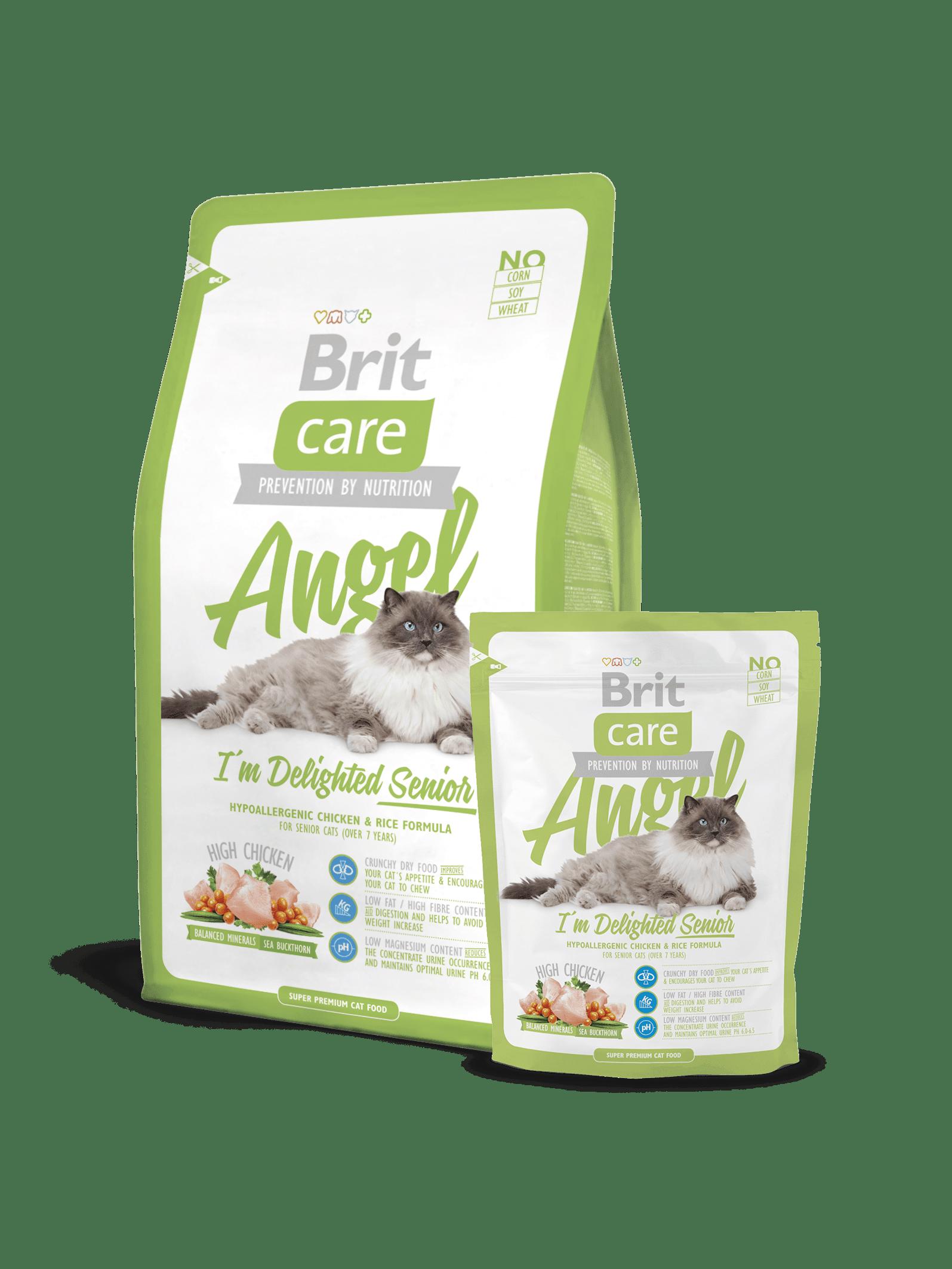 Hrana uscata pisici Brit Care Cat Angel Delighted Senior