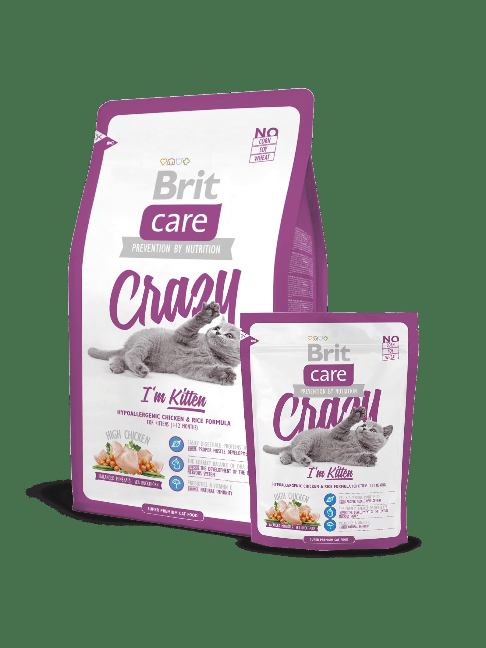 hrana uscata pisici Brit Care Cat Crazy Kitten
