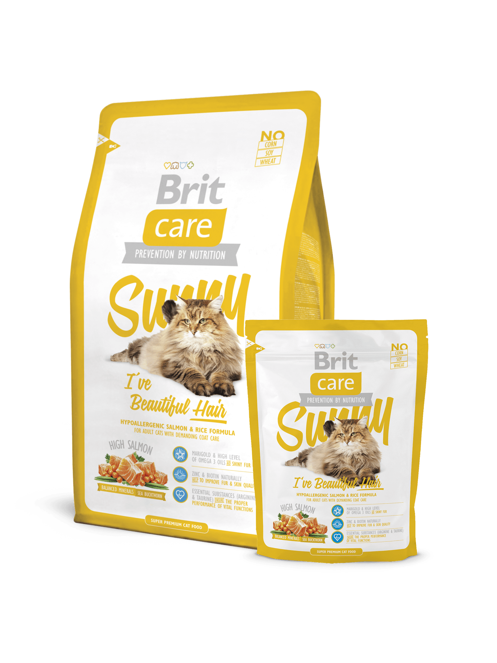 Brit Care Cat Sunny Beautiful Hair