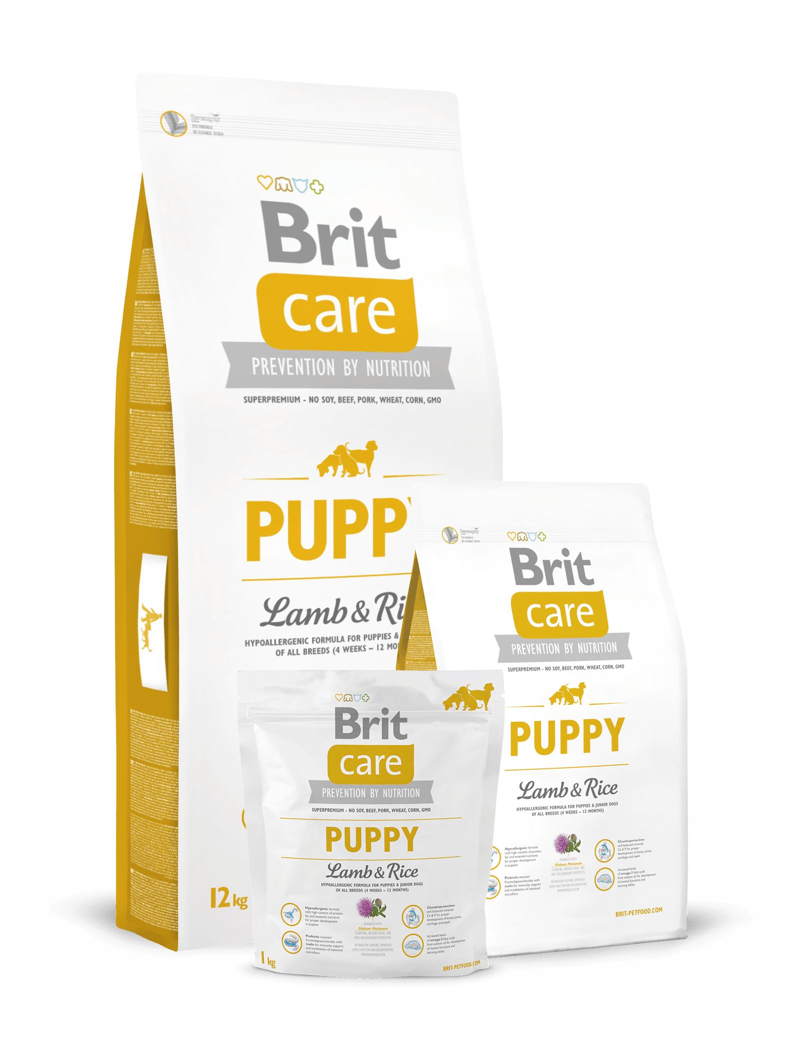 hrana caini Brit Care Puppy Miel si Orez