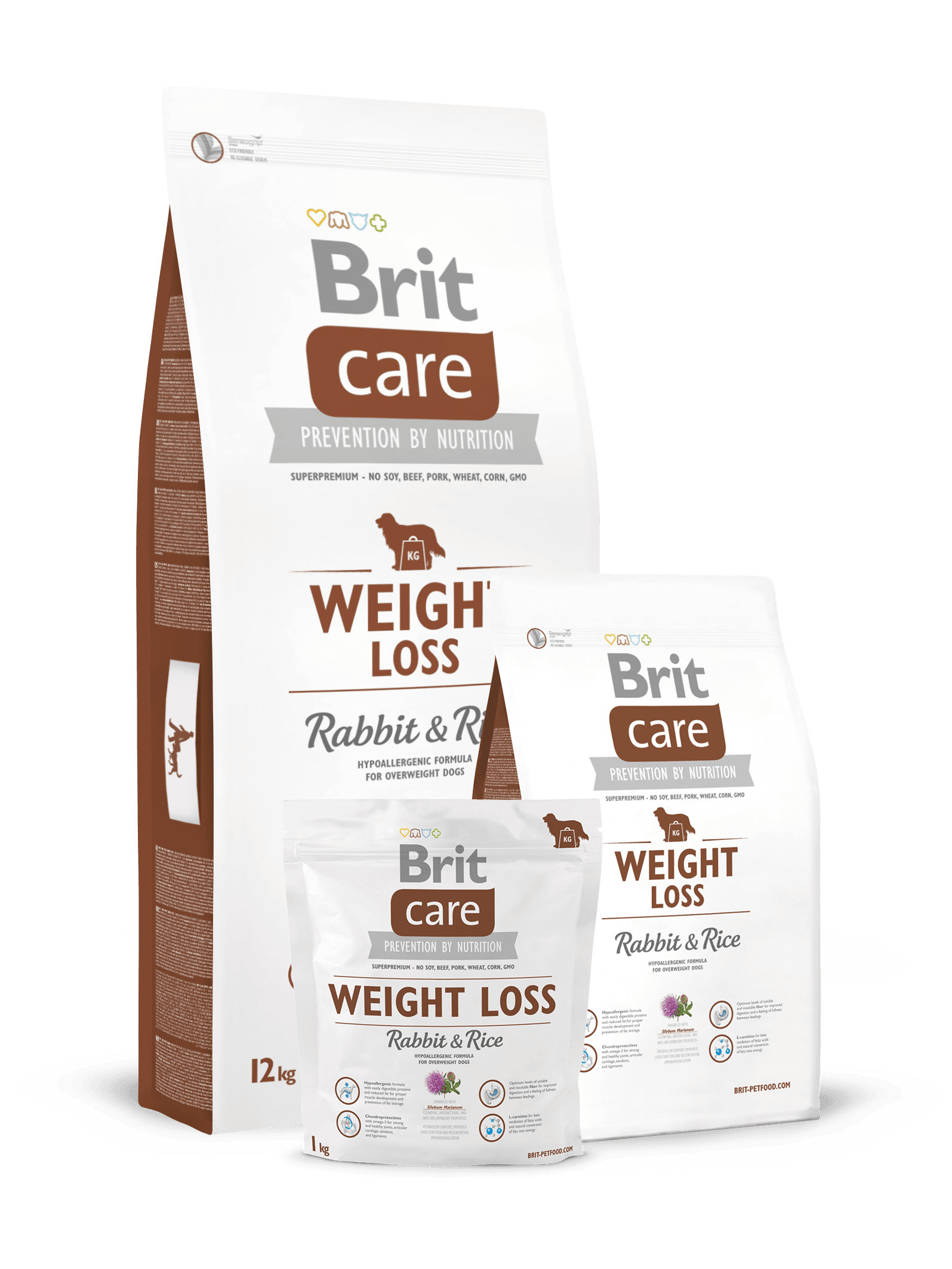 hrana caini Brit Care Weight Loss Iepure si Orez