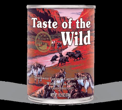 conserva taste of the wild Southwest Canyon pentru caini