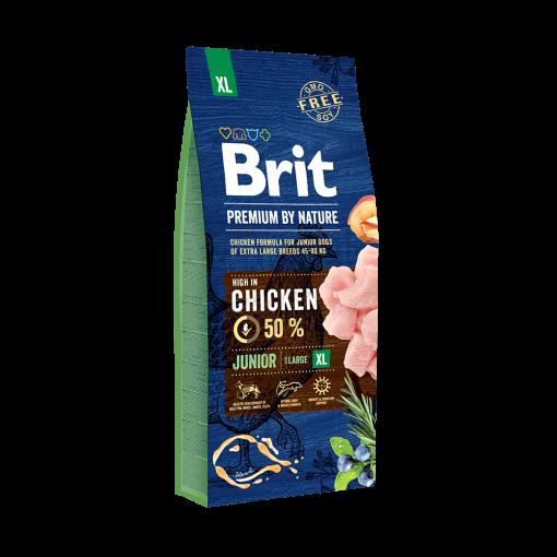 hrana caini brit premium junior xl 15 kg pentru caini juniori de talie mare catelulgras