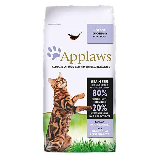 Hrana uscata pisici Applaws Rata si Pui