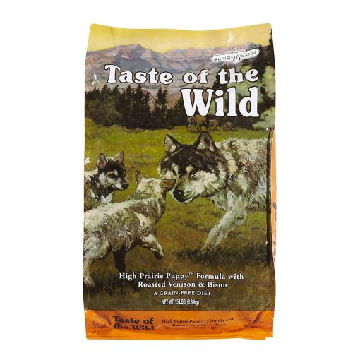taste of the wild high prairie puppy pentru caini juniori