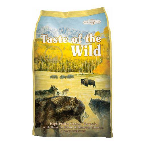 Hrana Uscata Caini Taste Of The Wild High Prairie 13 kg cu Bizon