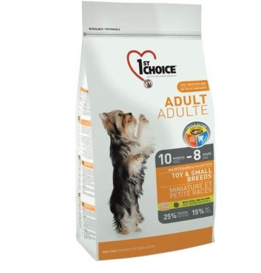 hrana caini 1st choice pentru caini de talie mica