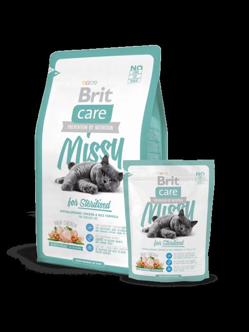 manacare pentru pisici sterilizate brit care missy sterilized