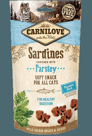 recompense pisici carnilove cu sardine