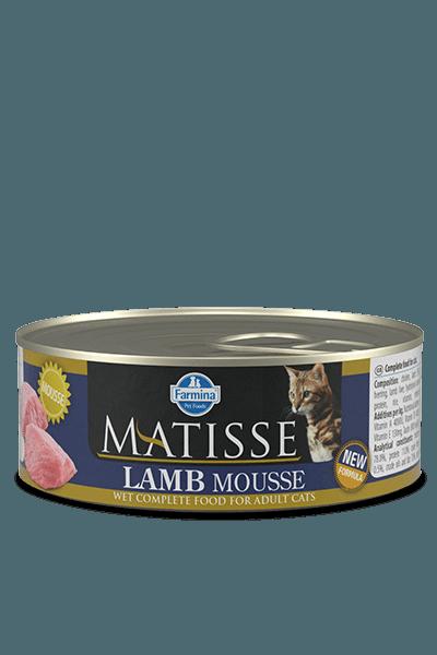 conserve matisse pentru pisici adulti cu miel