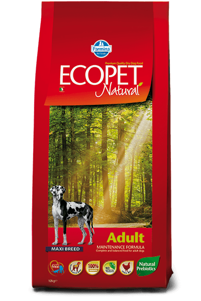 hrana caini Ecopet Natural Adult Maxi