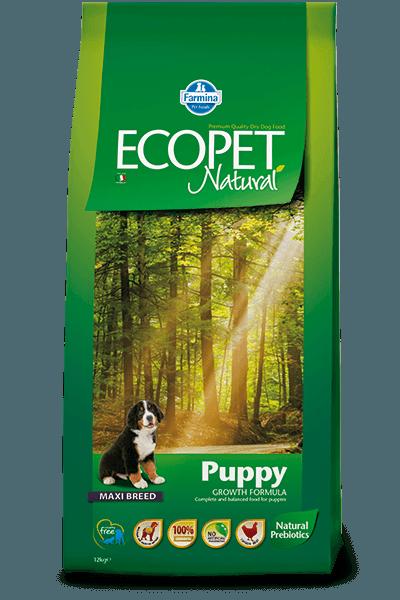 Hrana uscata Ecopet Natural Puppy Maxi