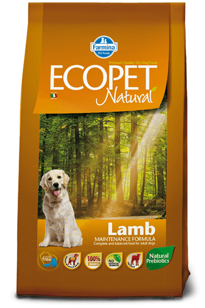 Hrana uscata Ecopet Natural Miel