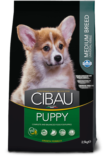 hrana caini cibau puppy medium