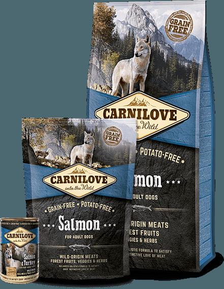 Carnilove Somon Adult fara cereale pentru caini