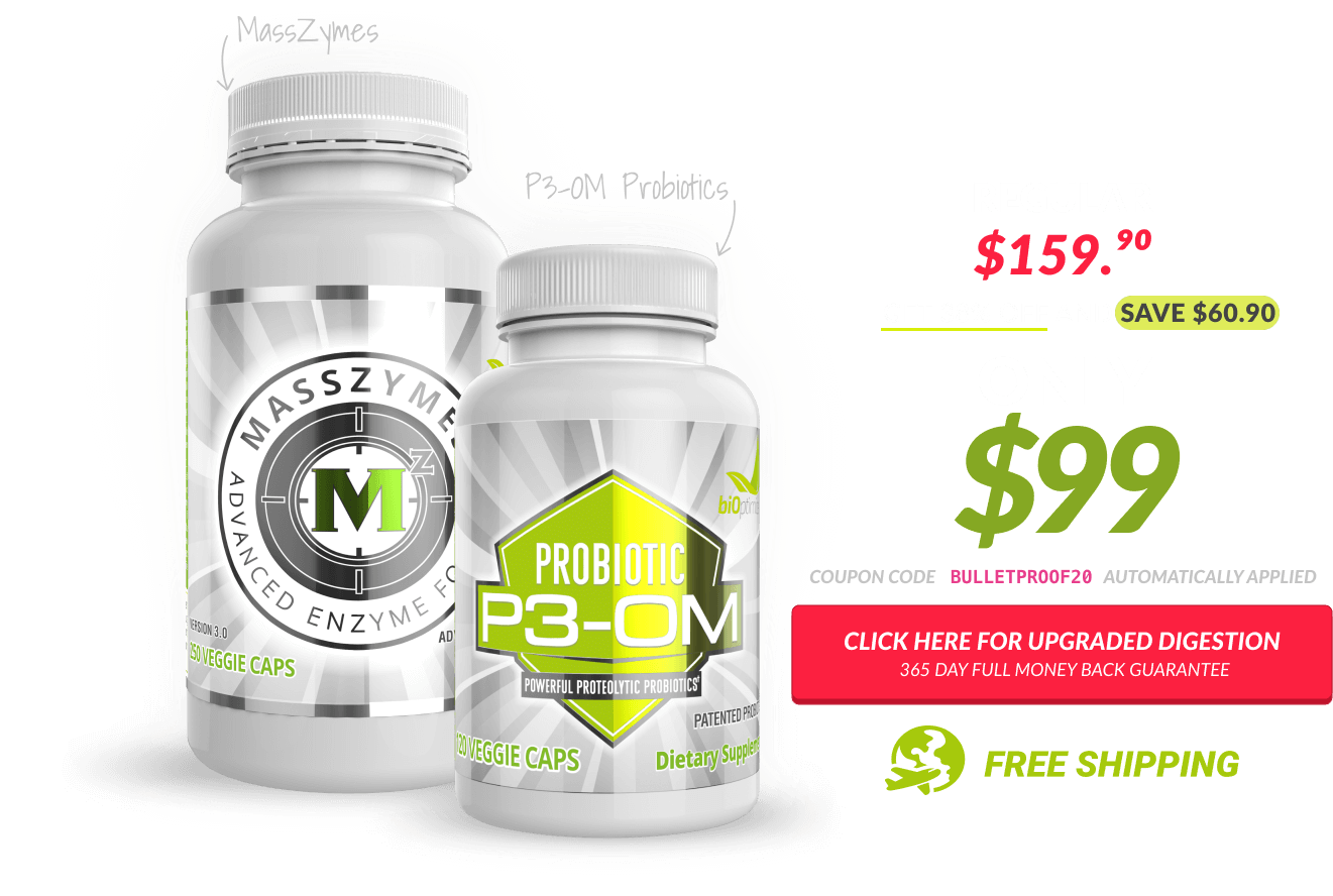 """The exclusive """"Upgraded Digestion"""" Bulletproof podcast offer"""