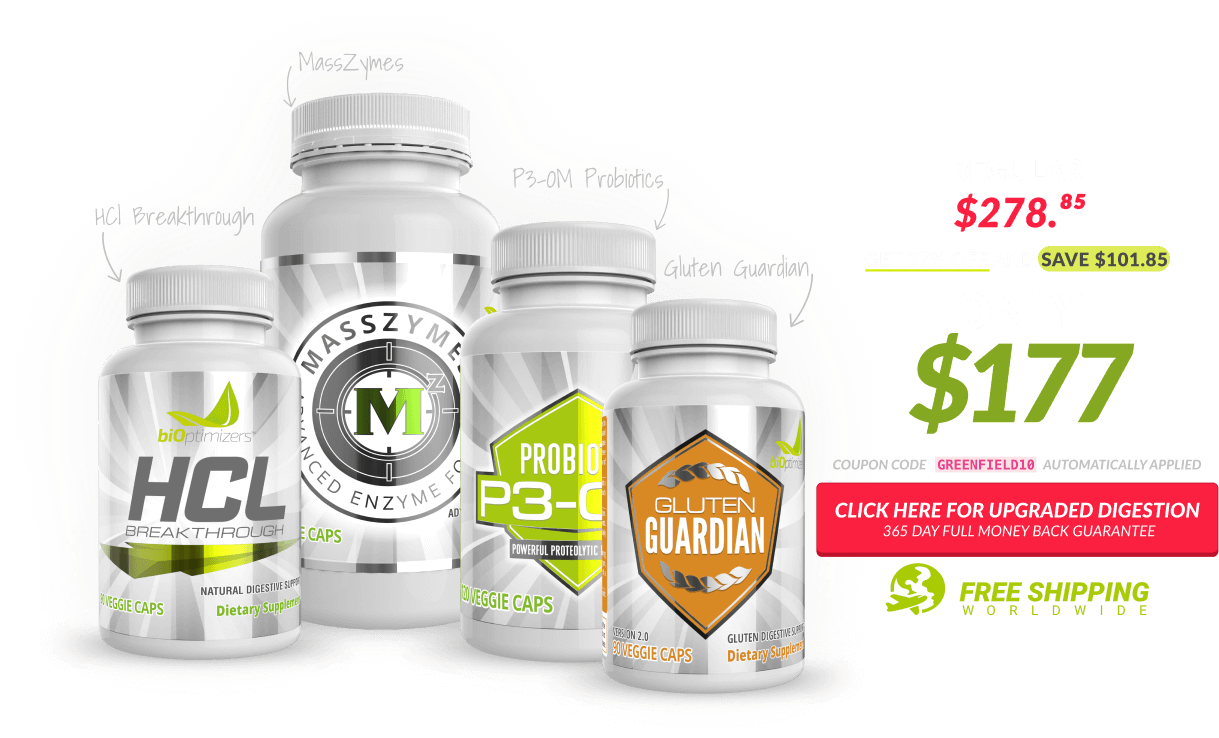 "The exclusive ""Upgraded Digestion"" Bulletproof podcast offer"