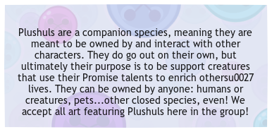 This Group Is For Fans And Owners Of Plushuls To Share Their Art And  Stories And Come Together As A Community! There Will Be Lots Of Fun Events  And Games To ...