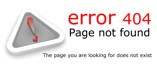 error 404 – Page not found – The page you are looking for does not exist!