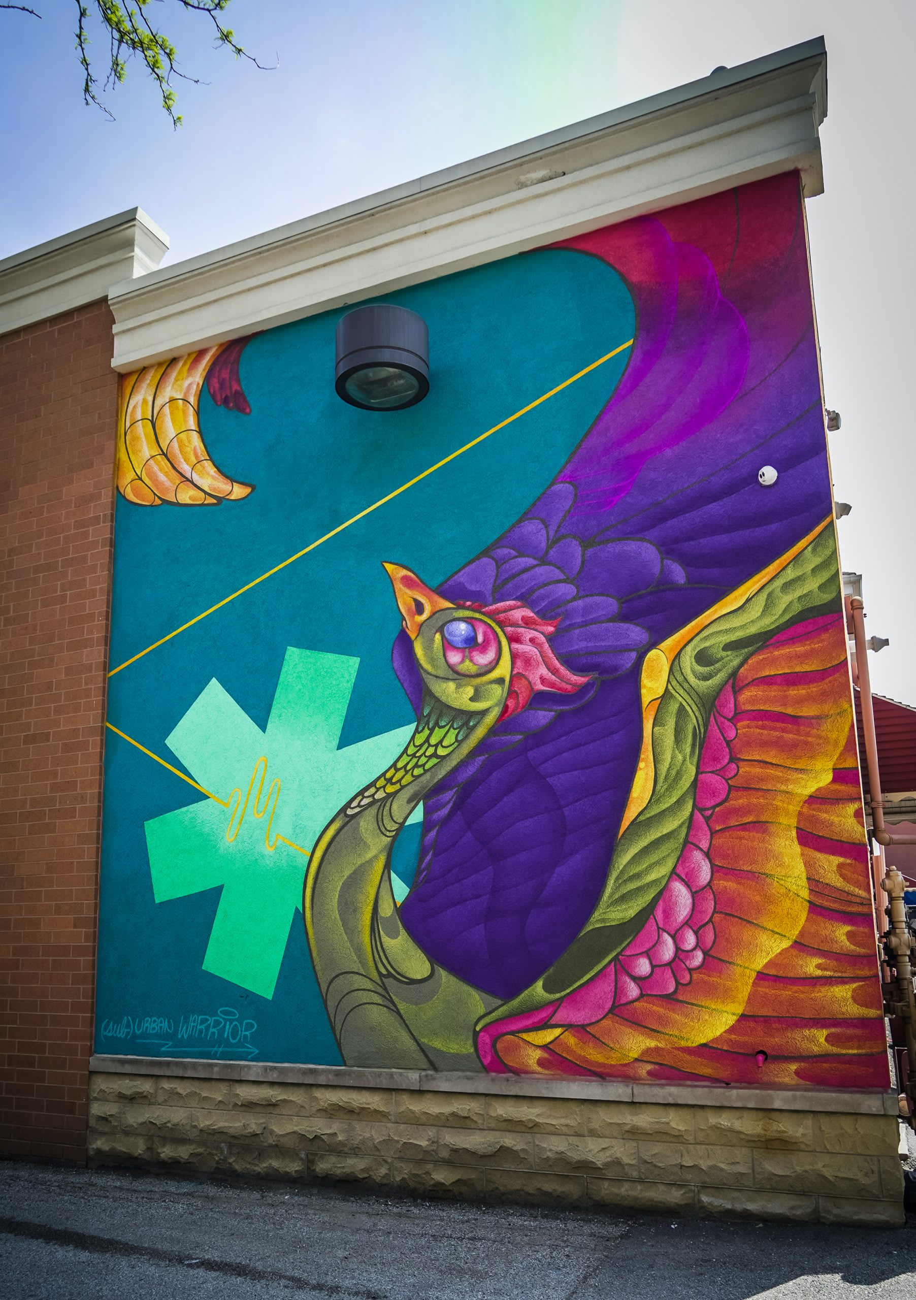 Murals For Medical Relief Mural in Chicago by Suburban Warrior