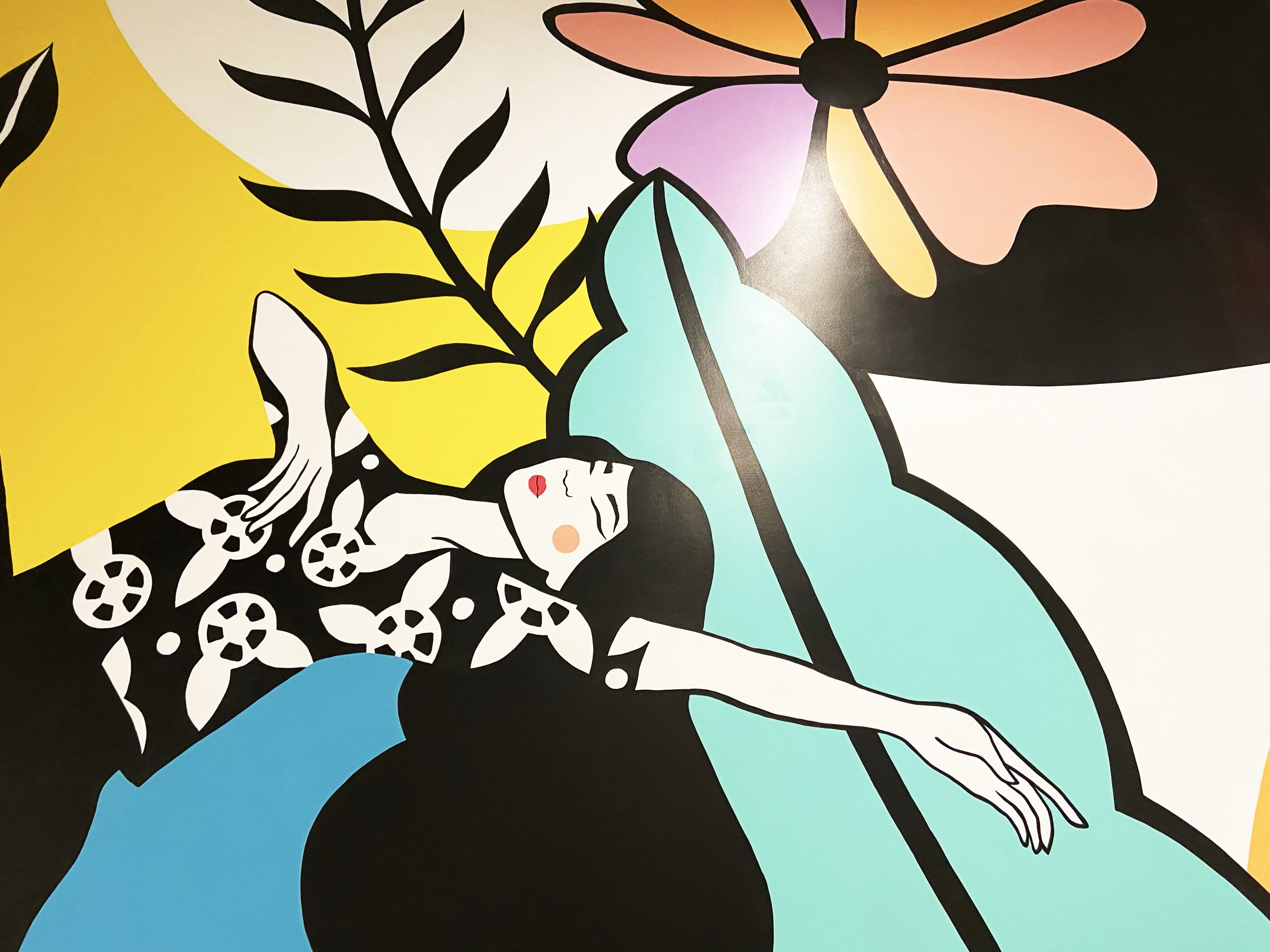 Brookfield Properties SoNo Collection Emma Daisy Mural
