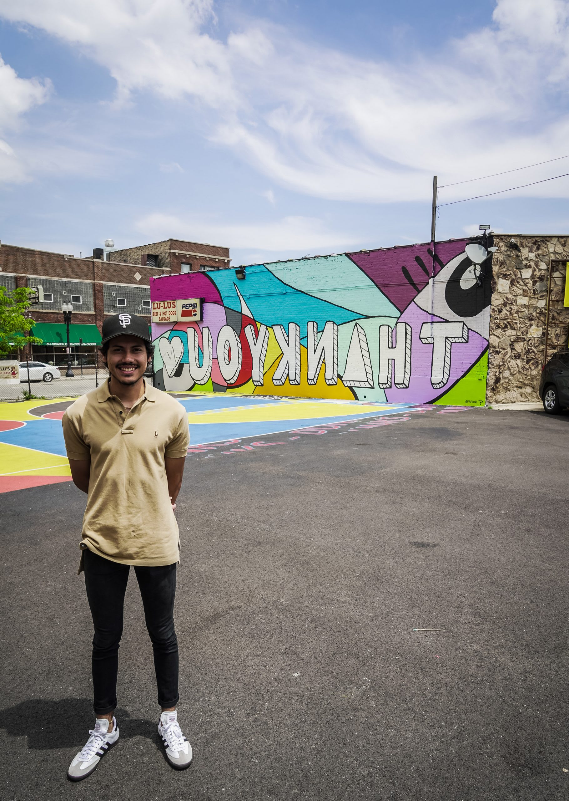 Murals For Medical Relief Mural in Chicago by Sergio FarfanI