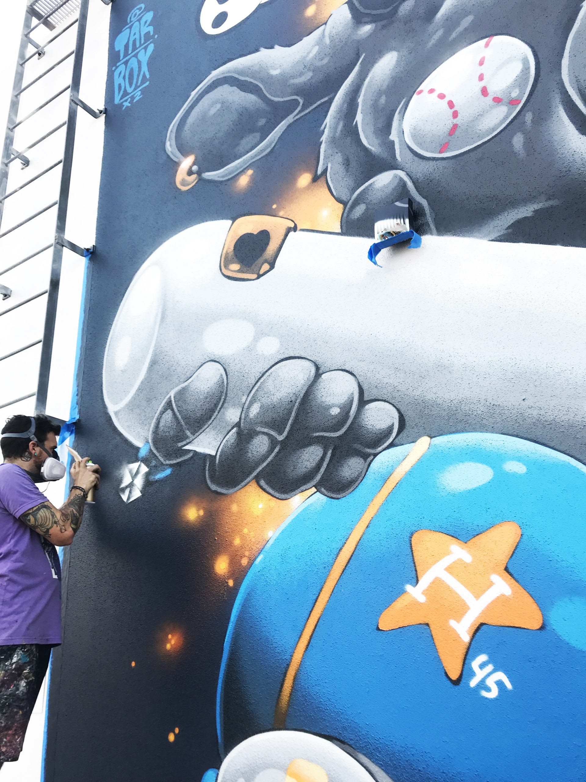 Houston Astros Win 2 Tarboxx Mural
